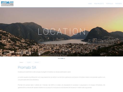 Screenshot der Webseite www.promabi.ch